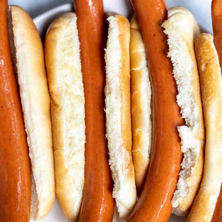 Air Fryer Hot Dogs Recipe