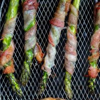Air Fryer Bacon Wrapped Asparagus Recipe