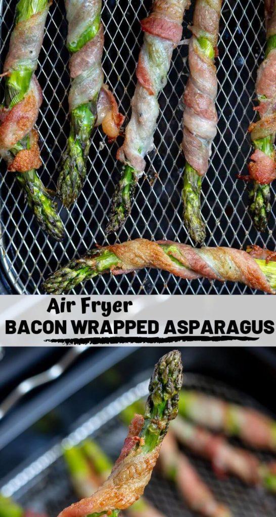 Air Fryer Bacon Wrapped Asparagus ★tasty Air Fryer Recipes