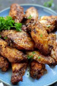 crispy air fried chicken wings