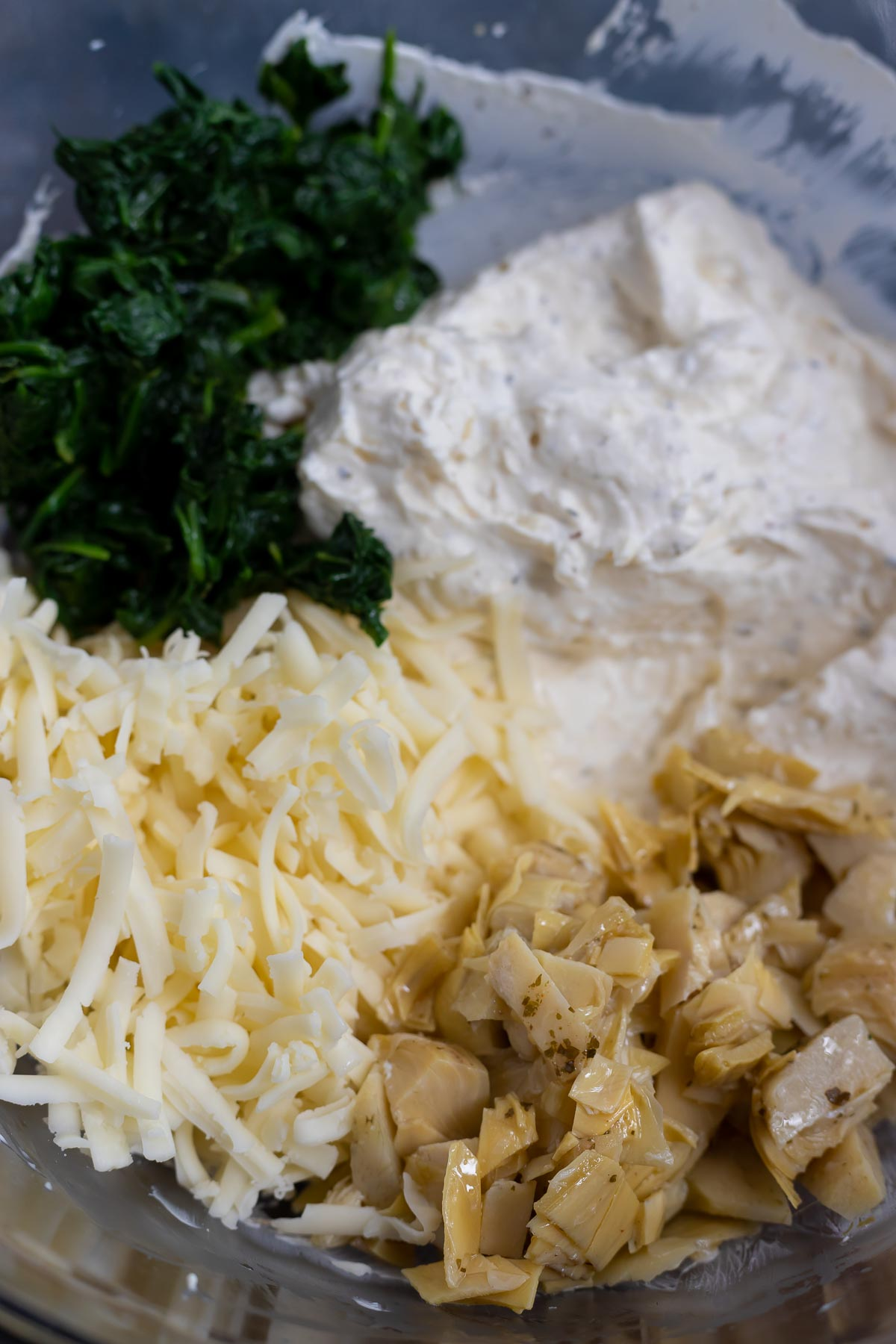 spinach artichoke dip ingredients