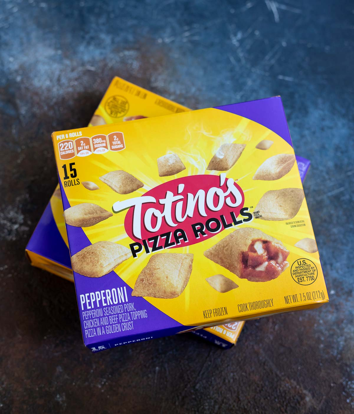 box of totinos pizza rolls
