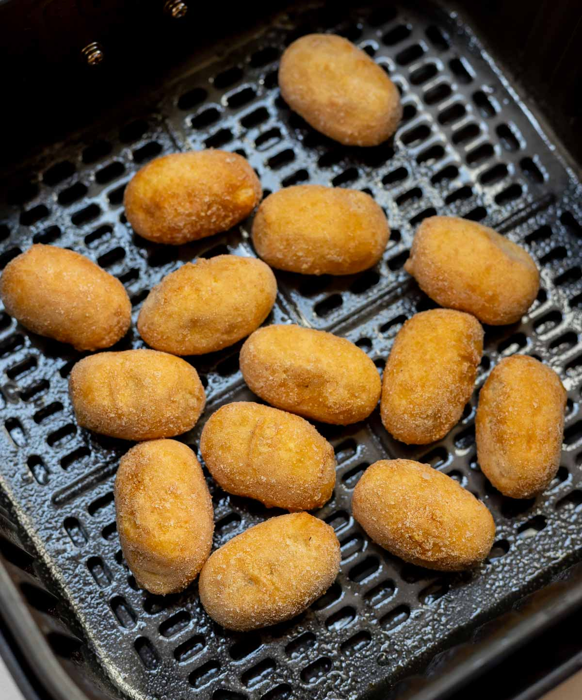 frozen mini corndogs in air fryer basket