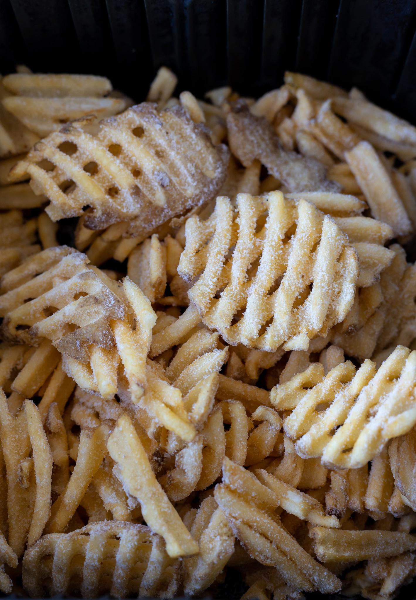 frozen fries in air fryer basket